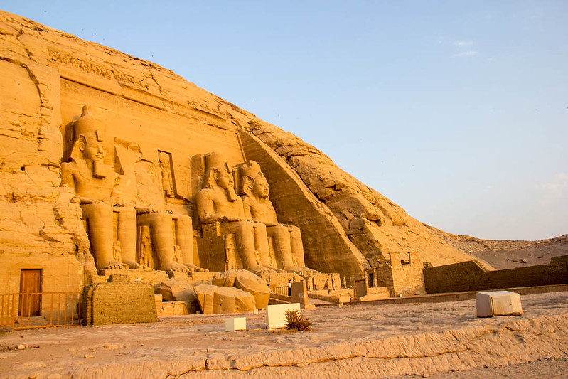 places to visit in Egypt - Abu Simbel - Lina Stock