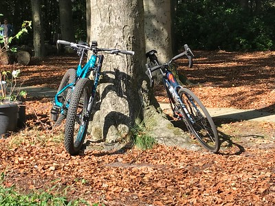 MTB toer - Rode route Rucphen 14-09-2018