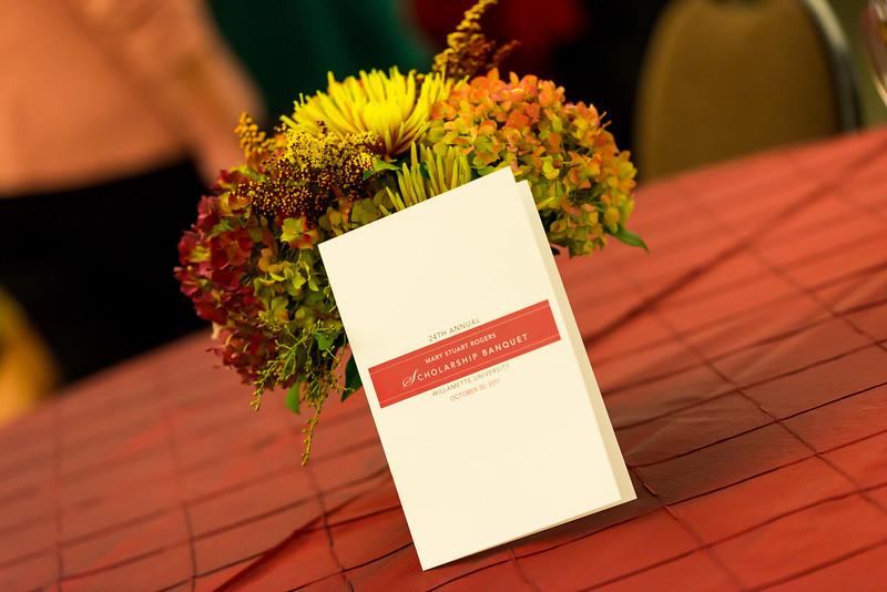 Mary Stuart Rogers Scholarship Banquet - Oct 30, 2017