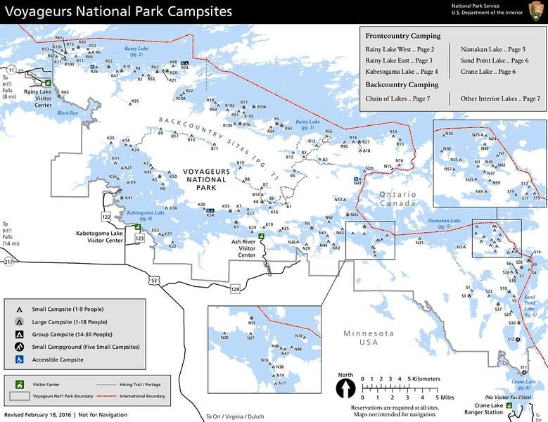 Voyageurs National Park (Campsites)