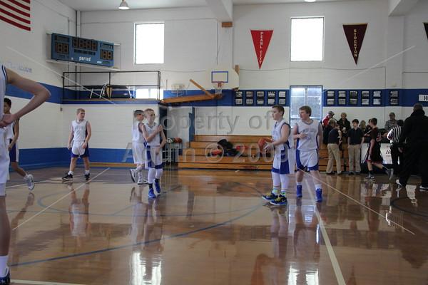 7th boys bball v. forreston . 1.10.15