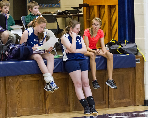 2015-10-12 Hillsdale Academy Junior High Volleyball vs. Jackson Christian