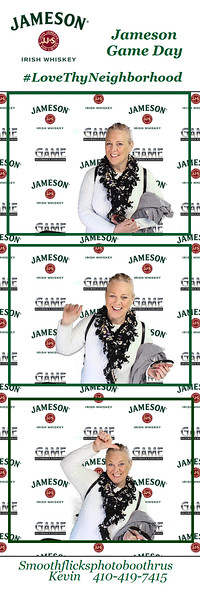 Jameson Game Day Tailgating November 04,2018