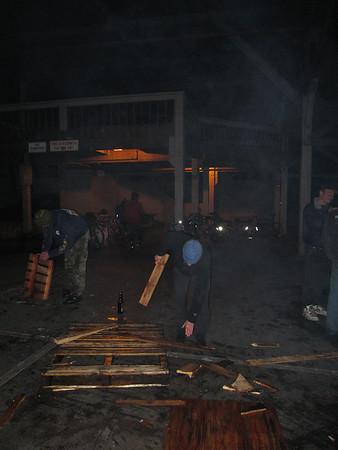 April 2nd 2009 -- Rain and Gasworks