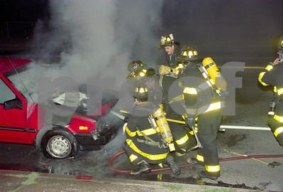 Working Car Fire