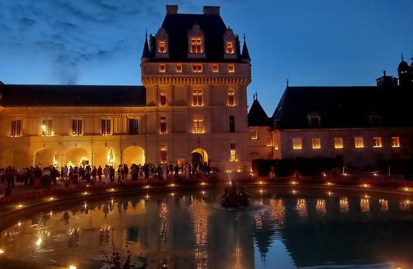 Le château - Soirée aux chandelles 24 juillet 2010