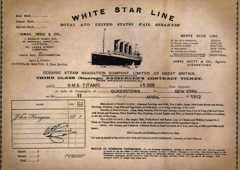 The Titanic Experience