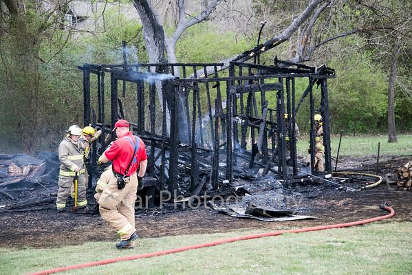Outbuilding Fire At 2618 Elizabethton Highway 04-13-15