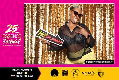 2019.07.07 Black Women United for Healthy Sex at Essence Fest Day 3