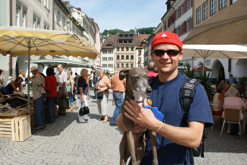 Here I am in Feldkirch, Austria, the westernmost town in Austria near Lichtenstein and the Swiss border.