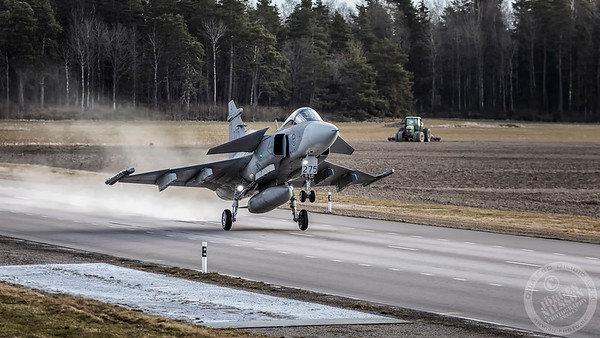 F 7 Wing, Road base operations April 2020