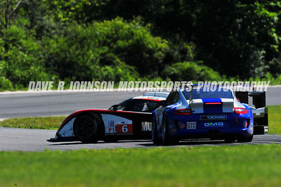 2011-07-09 ALMS Northeast Grand Prix, Lime Rock Park, CT, USA, Incidents at Turns 1 & 4