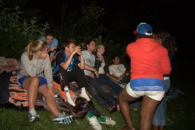 Fireworks & Campfire