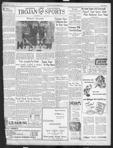 Daily Trojan, Vol. 26, No. 96, March 15, 1935