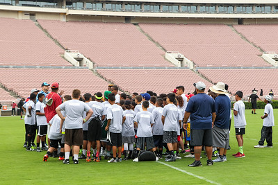 2017-06 Rosebowl Game Youth Football Clinic