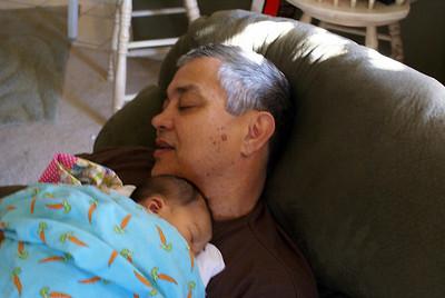 Kaylani @ Grandma/Granpa's