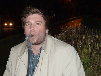 After Dinner Cigar With Maxwell