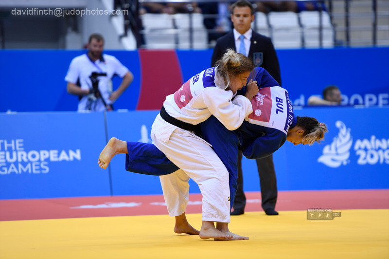 2019 Minsk European Games  (Judo: 22-25 June)