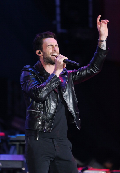 . CARSON, CA - MAY 11:  Adam Levine of Maroon 5 performs onstage during the 2013 KIIS FM\'s Wango Tango held at The Home Depot Center on May 11, 2013 in Carson, California.  (Photo by Michael Tran/FilmMagic)