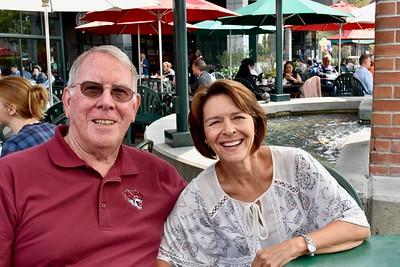 Bill & Melanie At Cafe Borrone-8/23/18