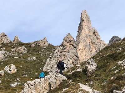 Dolomites - Traverse Day 3 San Cassiano