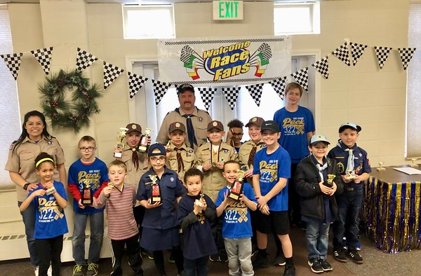 Pinewood Derby group