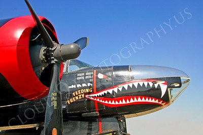 Sharkmouth Douglas B-26 Invader Airplane Pictures