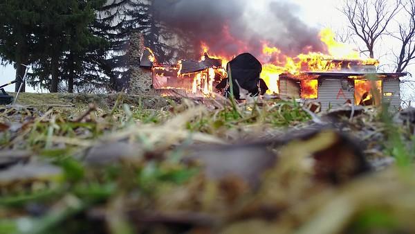 Sun Prairie Live Fire With Drone
