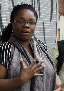 Lola Akinmade Akerstrom photowalk, TBEX Toronto