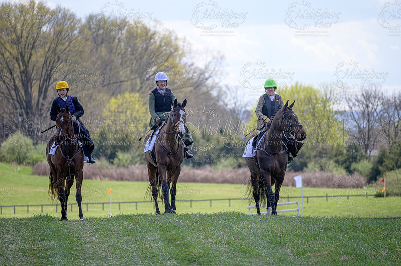 4th Race Side Saddle Field Master's Chase
