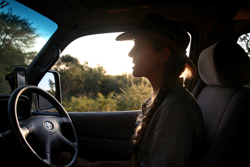 Our safari guide at Kruger National Park, South Africa.