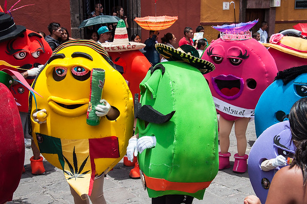Desfile de los Locos - San Miguel de Allende
