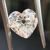 3.47ct Antique Heart Shaped Diamond GIA F SI2 23