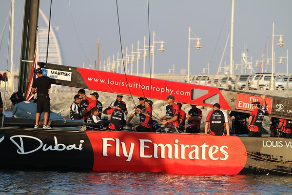 Louis Vuitton Cup In Dubai