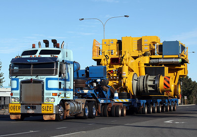 3rd March 2012, McAleese Transport, WA Specialised Transport, Mitchell, McMahon