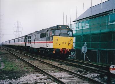 Central Trains & Fragonset Merlin Rail proving run 29-3-2005
