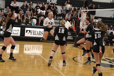 BL Varsity Volleyball vs Southlake (08/20/2012)