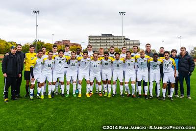 10-18-14 Michigan Men's Club Soccer Vs GVSU