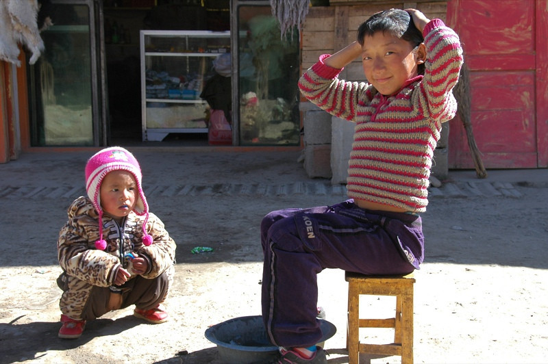 Chinese Kids - Xiahe, China