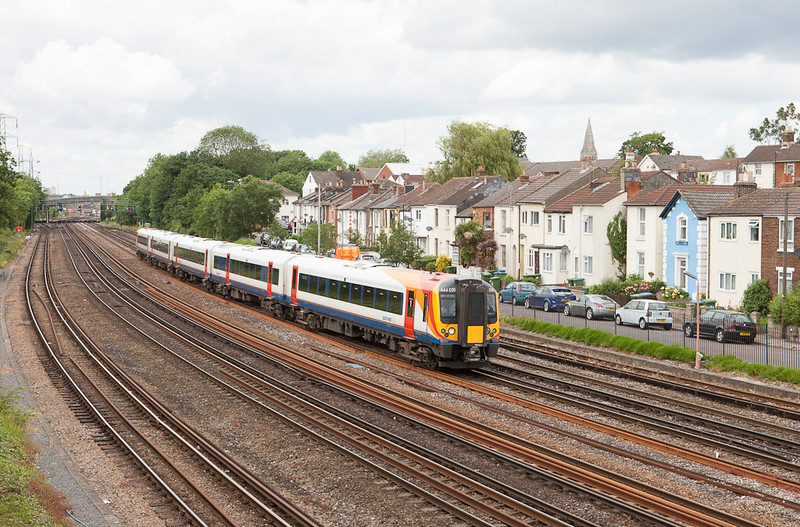 Southwest Trains 444 031 in Southampton, Hants.