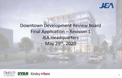 JEA Headquarters - Final Concept
