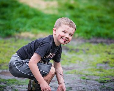 Mud Puddle Fun!