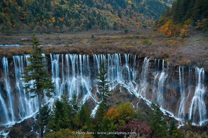 Juizhaigou, Nuorilang Falls