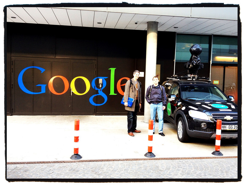 End of a productive meeting at Google Zurich.