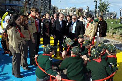 Group inaugurates new Qui-Si-Sana Garden - Sun 12th Dec 2010
