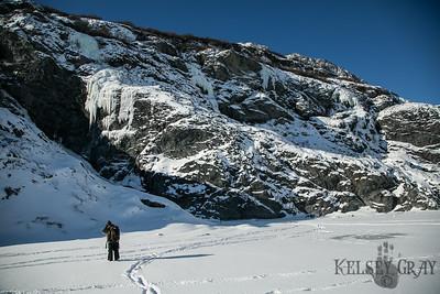 Knik Gorge Ice Climbing 02/25/18