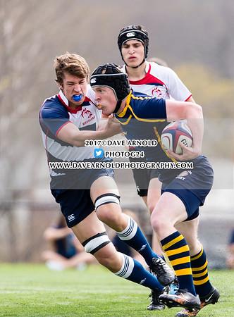 4/27/2017 - Varsity Rugby - Needham vs Brookline
