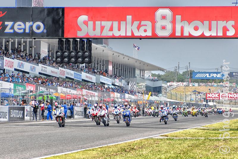 Suzuka 8 Hours 2013 - Race