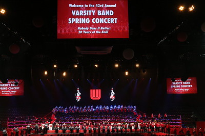 Friday Varsity Band Concert    4-21-17
