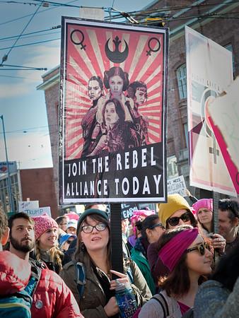 2017 Woman's March, Seattle WA